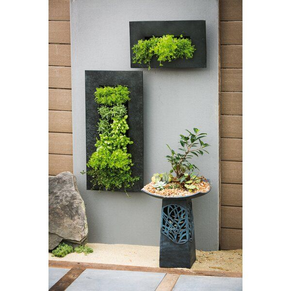 Great For Small Spaces Pocket Wall Planters Can Help You Create A Lush Garden In A Small Urban Wall Planters Outdoor Metal Wall Planters Vertical Herb Garden