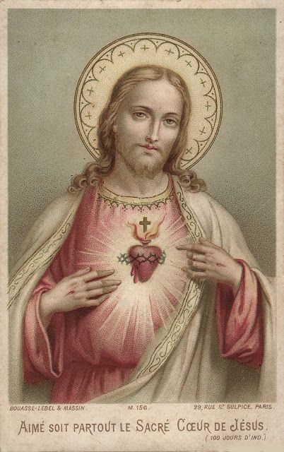 Holy Card Heaven: Feast of the Sacred Heart of Jesus (Solemnity) June 12, 2015