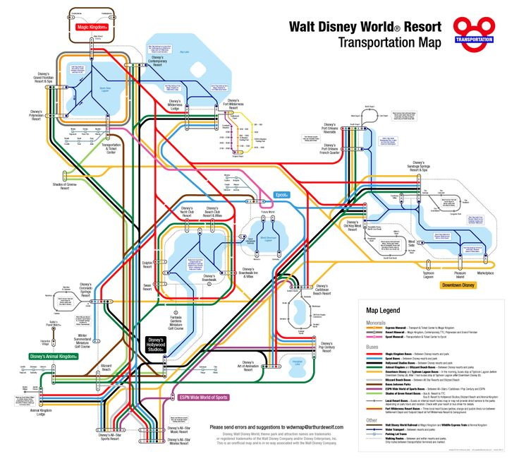 How to navigate Disney World transportation
