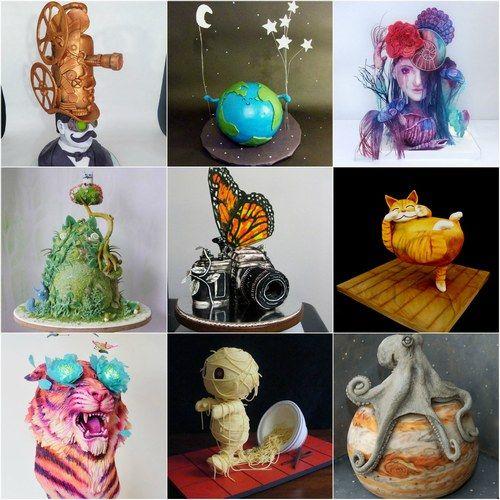 Quando il cake design diventa arte pura - Torte incredibili