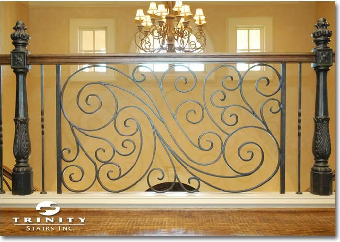Fancy Wrought Iron Wall Panels Decorative Ornament - Wall Art ...