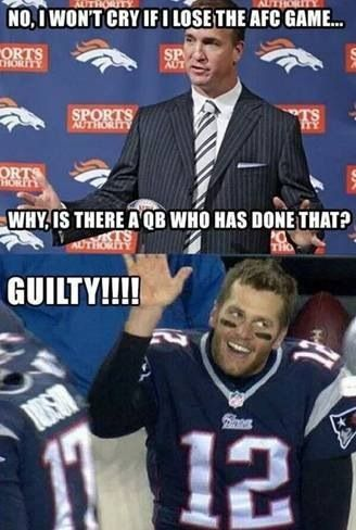 This is why Tom Brady is a pussy