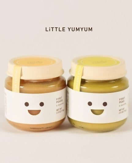 Little Yumyum baby food packaging design and branding