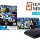 PlaySation 4 Slim + 3 juegos a $ 10.498: Oferta de Compras Misiones La pagás en cuotas. Incluye 3 juegos, mando inalámbrico DUALSHOCK 4 y la suscripción de 3 meses a Playstation Plus. Es de Electro Misiones. Antes $11.306.