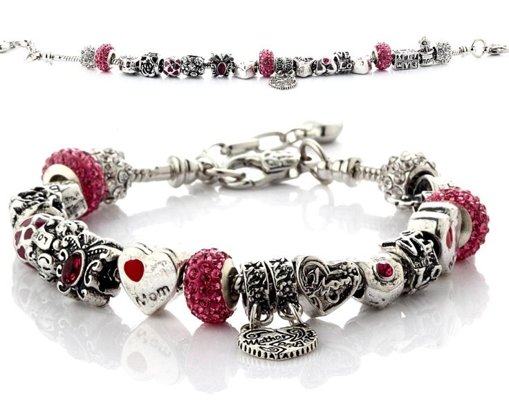 $22 for a Mother Daughter Love Charms Bracelet - Shipping Included