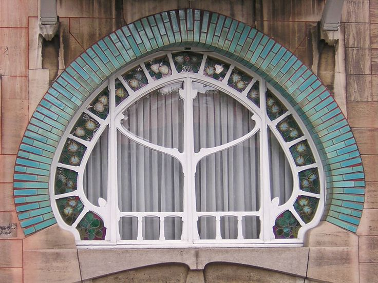 210 best images about art nouveau architecture on for Art nouveau fenetre
