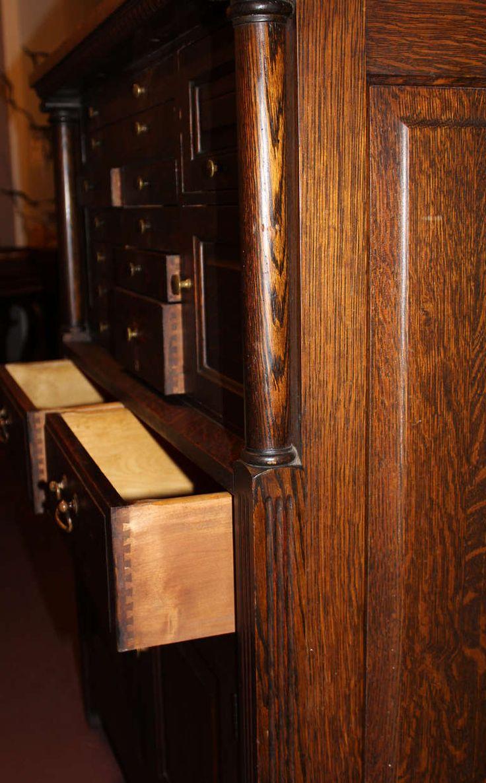 Vanities 36 quot bridgemill corner bamboo vanity for undermount sink - Early 20th C American Cabinet Company Oak Dental Cabinet