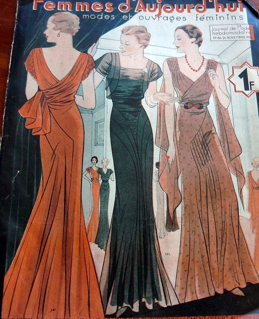 30s Fashion Catalog