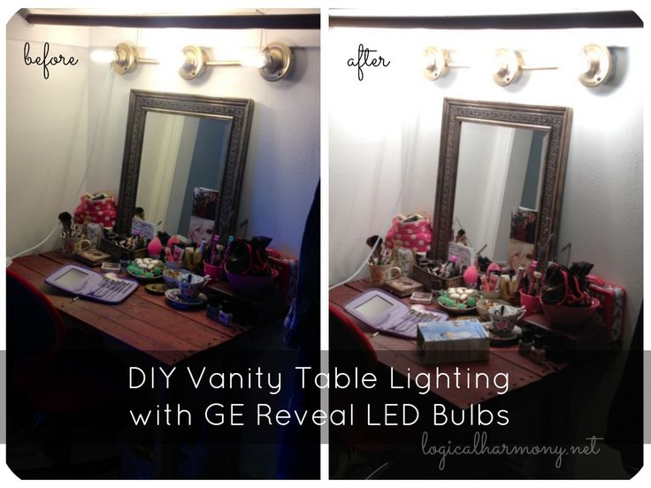 Diy Vanity Led Lights : 1000+ images about GE Lighting 100 Reveal on Pinterest Lighting, How to design and Ceiling design