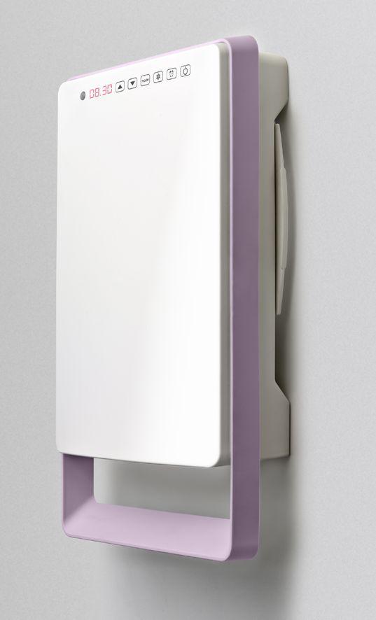 Termoventilatore Bagno digitale TOUCH (versione MALVA)) - radiatori elettrici risparmio energetico