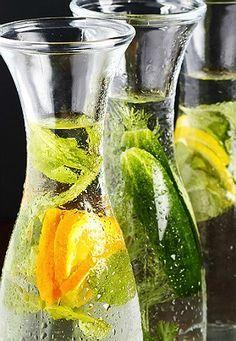Água aromatizada emagrece e turbina a saúde: 7 receitas poderosas