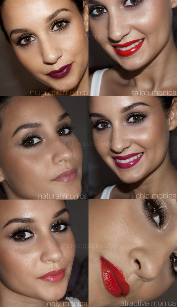 Dolce and Gabbana's Monica Bellucci Lipstick Collection - Makeupzone.net