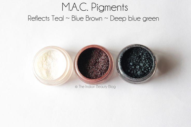 MAC pigments #MAC #eyemakeup #makeup
