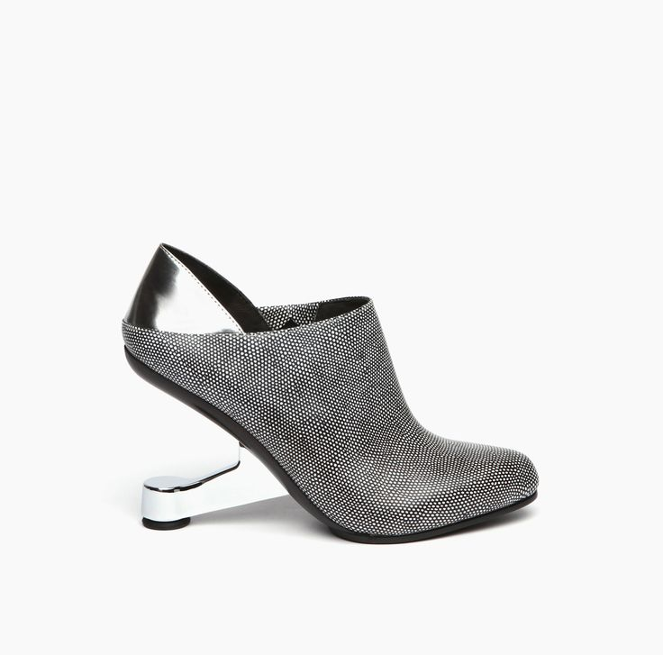 AW15 | United Nude Eamz Ivy Black White Mix & Silver