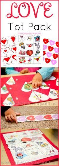 Love Tot Pack ~ Free Valentines Day Printables