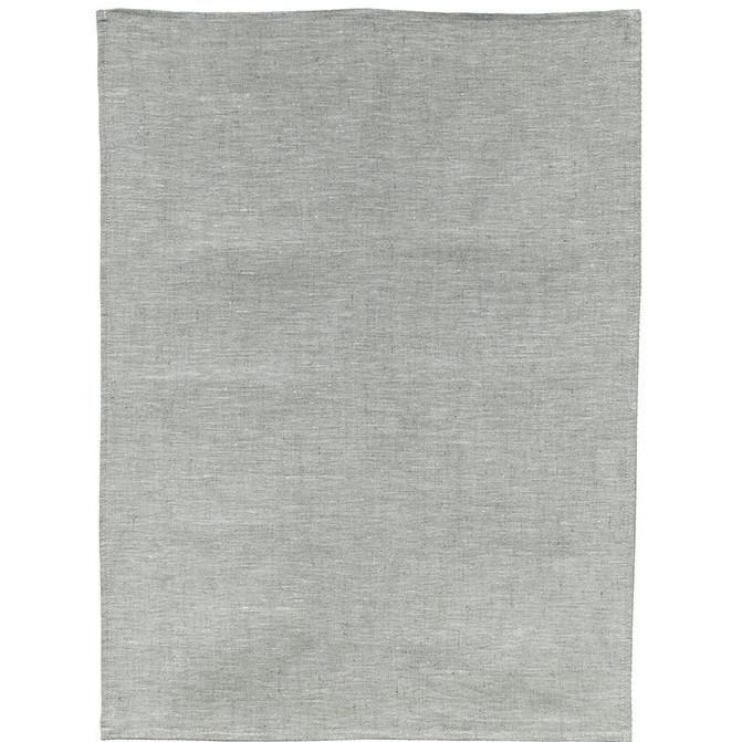 plain oatmeal linen tea towel