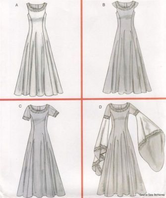 Renaissance Maiden Sewing Pattern McCalls 4491 Medieval Sizes 14-16-18-20…                                                                                                                                                                                 More