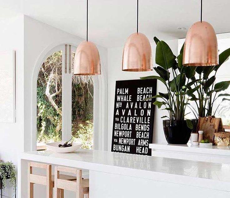 17 mejores ideas sobre Luces Colgantes De Cobre en Pinterest ...