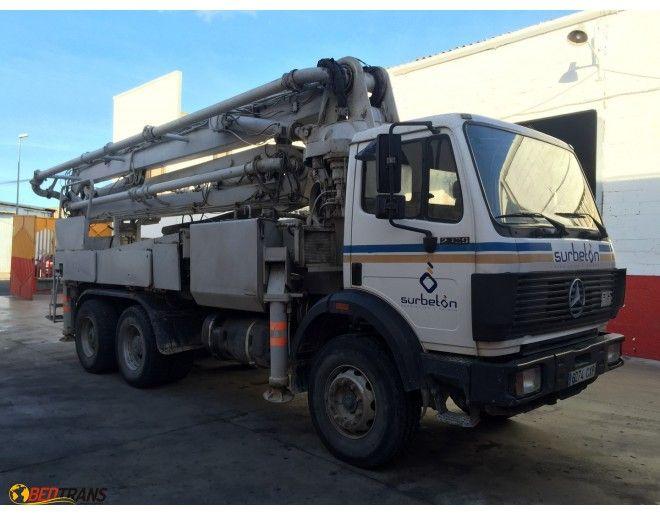 Mercedes On Sale >> Concrete pump SCHWING 32 XL-4 MERCEDES 2529 SK   Sales useds and new concrete pumps Spain ...