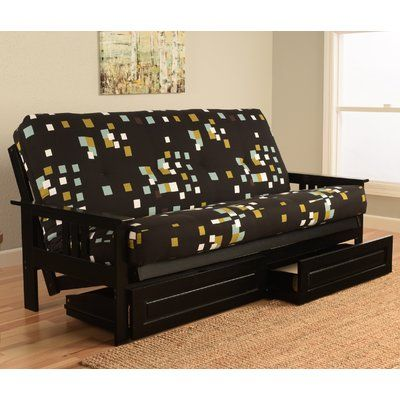 Hardwick Modern Blocks Futon and Mattress - http://delanico.com/futons/hardwick-modern-blocks-futon-and-mattress-697803818/
