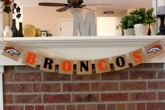 Superbowl Banner, LAST ONE, Denver Broncos, Burlap, Peyton Manning, Decoration, Football: Broncos Baby, Broncos Burlap, Diy Superbowl Decor, Superbowl Banners, Decoration, Denver Broncos Parties, Broncos Football, Banners Denver, Burlap Peyton