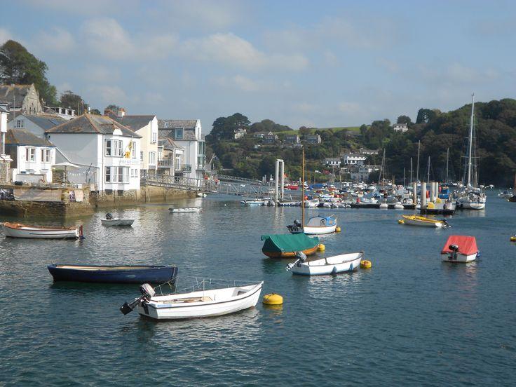 Fowey in Cornwall.