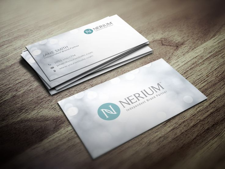 Best Nerium Business Cards Images On   Business Card