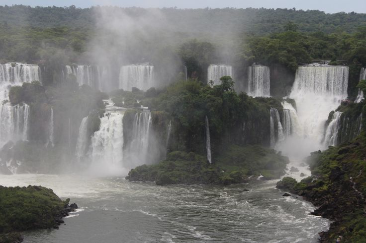 1. Iguazu National Park, one of the Seven Wonders of the World and UNESCO World Heritage.  2.Located it between Brazil, Parana and Argentina. 3.  Iguazu currently has the greatest average annual fl…
