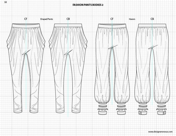fashion sketchbook with templates -