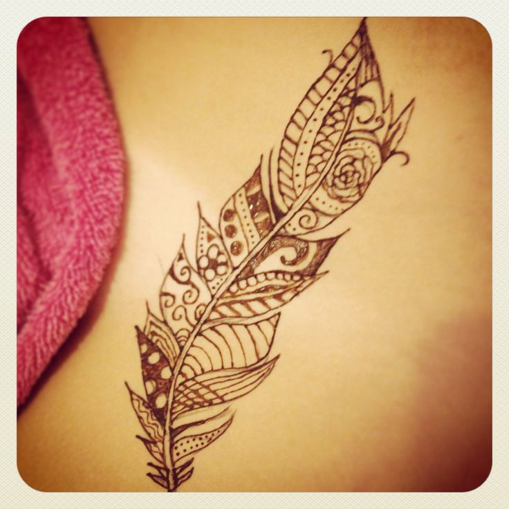 Henna Feather: 97 Best Images About Henna On Pinterest