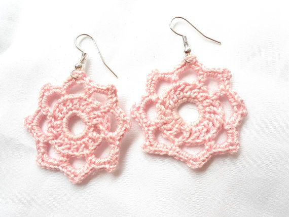 Check out this item in my Etsy shop and it's on sale! https://www.etsy.com/listing/265298347/clearance-sale-hand-crochet-earrings
