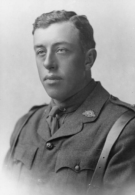 Lieutenant Edward Lionel Austin Butler. 12 Battalion, Australian Infantry, Australian Imperial Force  Lt Butler of Hobart, Tasmania was wounded on 22 August 1916 at Mouquet Farm during the Battle of the Somme. He died the following day, aged 35. He is buried at Puchevillers British Cemetery.