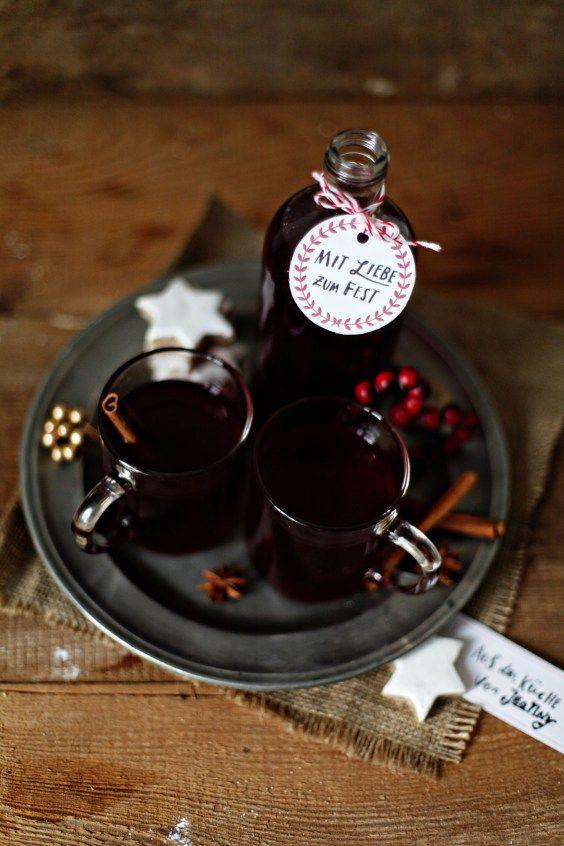 Punsch Weihnachten Rezept Zuckerzimtundliebe Foodblog