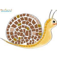 Mosaïque escargot