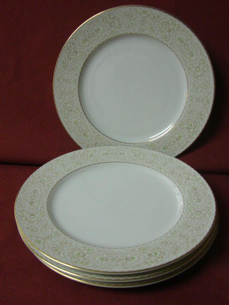 Sango China Dinnerware Martinique Pattern # 3791 Set 4 Salad plate(s) & 29 best Sango China images on Pinterest   China dinnerware ...