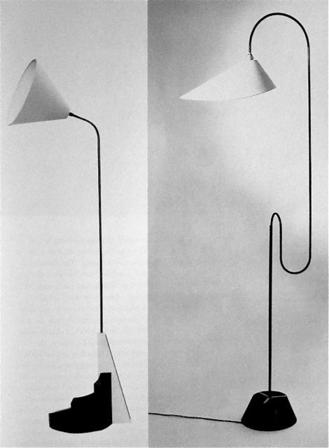 Eileen Grey Lamp designs c. 1930s