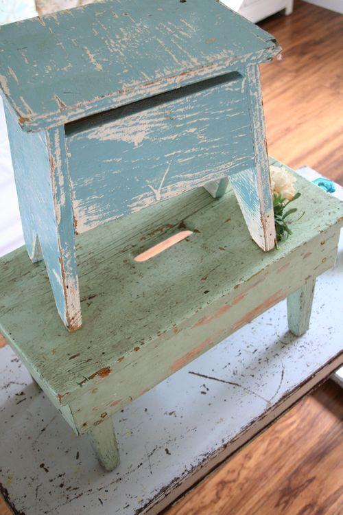 stool . chippy . blue . green & 15 best ladder . stool images on Pinterest | Wooden stools ... islam-shia.org
