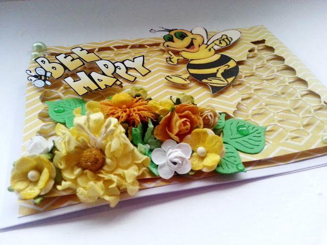 Marta for Bee Scrap - polski producent papierów do scrapbookingu