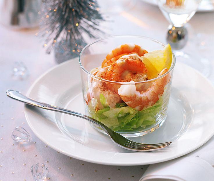 Creamy prawn cocktail   ASDA Recipes