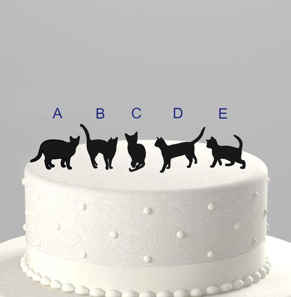Custom Silhouette Cake Topper