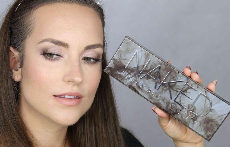 Dzienny makijaż z paletą Urban Decay SMOKY - tutorial