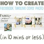 How to create Facebook Timeline cover photo in Picasa in 10 minutes or less (via Home Stories A to Z)