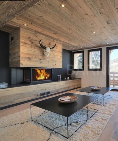 25 best ideas about chalet design on pinterest chalet - Deco style chalet moderne ...