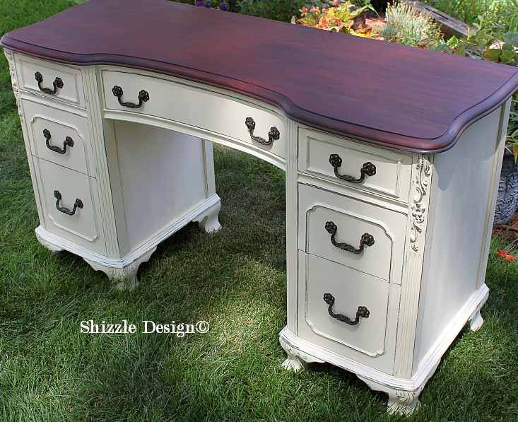 Painted Desks 91 best desks & secretaries - chalk paint ideas images on
