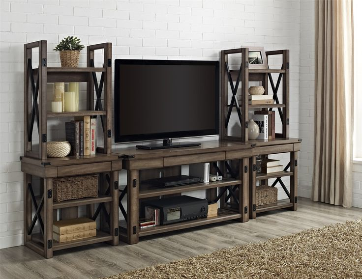 altra wildwood entertainment center wayfair products pinterest entertainment center and. Black Bedroom Furniture Sets. Home Design Ideas