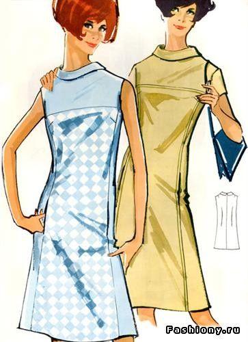 женская мода 60-х годов фото - Поиск в Google