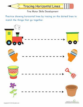 24 best preschool - horizontal & vertical strokes images on ...