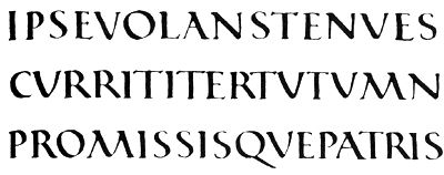 ifont.ru. Римское капитальное квадратное письмо