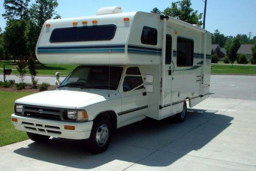 The Toyota Mini Motorhome - A Quirky RV with a Strong ...