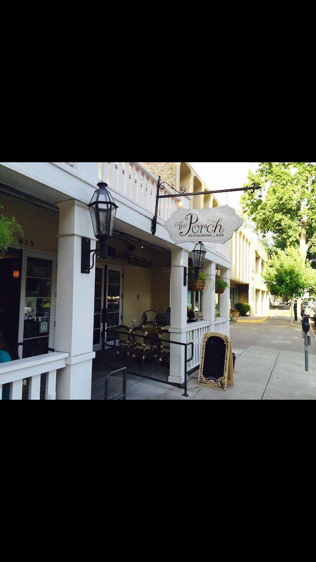 The porch | downtown Sacramento | southern food